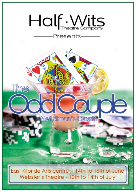 odd couple aw-poster